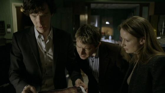 Sherlock John Sarah