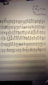 The music for Sherlock's wedding waltz