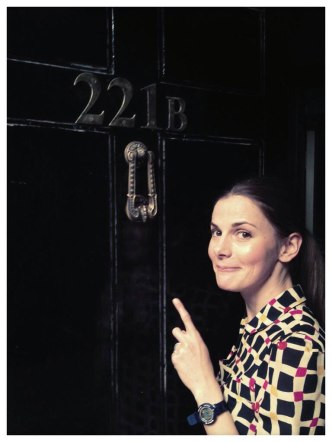 Someone familiar is at Sherlock's door...