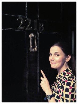 Someone familiar is at Sherlock's door...
