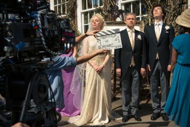 Divas Ben, Martin and Amanda bask in the sun