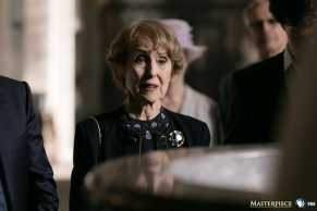 Sherlock, Season 4 premieres January 1, 2017 on MASTERPIECE on PBS. Picture shows: Mrs Hudson (UNA STUBBS)