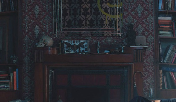8 easily missed hints and easter eggs from the sherlock series four promo sherlocks home. Black Bedroom Furniture Sets. Home Design Ideas
