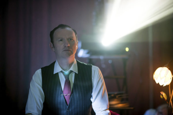 WARNING: Embargoed for publication until 00:00:01 on 10/01/2017 - Programme Name: Sherlock - TX: 15/01/2017 - Episode: Sherlock S4 - Ep3 (No. 3) - Picture Shows: **STRICTLY EMBARGOED UNTIL 10TH JANUARY 2017** Mycroft Holmes (MARK GATISS) - (C) Hartswood Films - Photographer: Laurence Cendrowicz