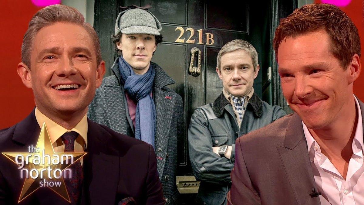 WATCH: Benedict Cumberbatch and Martin Freeman's Best Bits on The Graham..
